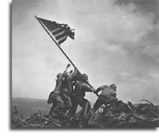 Marines Raising Flag