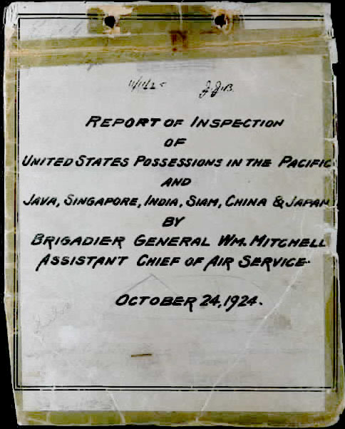 1924 Report of Inspection of US Possessions in the Pacific