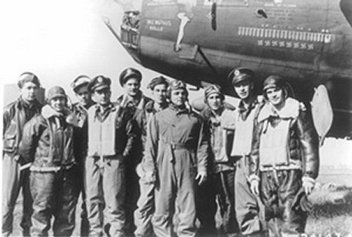 Captain and crew of the Memphis Belle