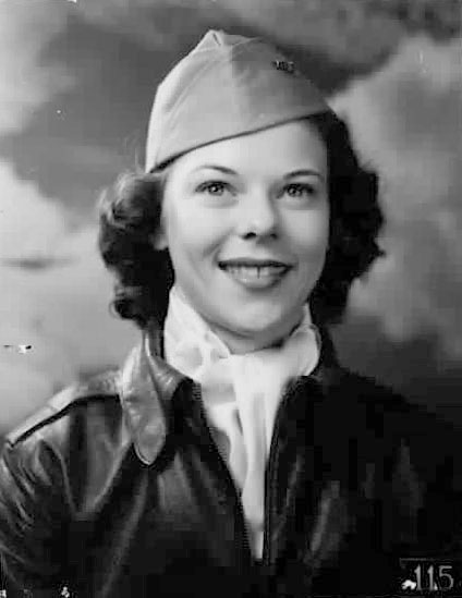 WASP Pilot Betty Bachman