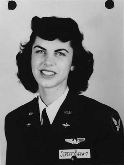 WASP Pilot Betty Jo Streff
