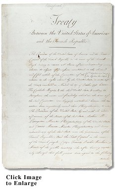 The Lousiana Purchase Treaty