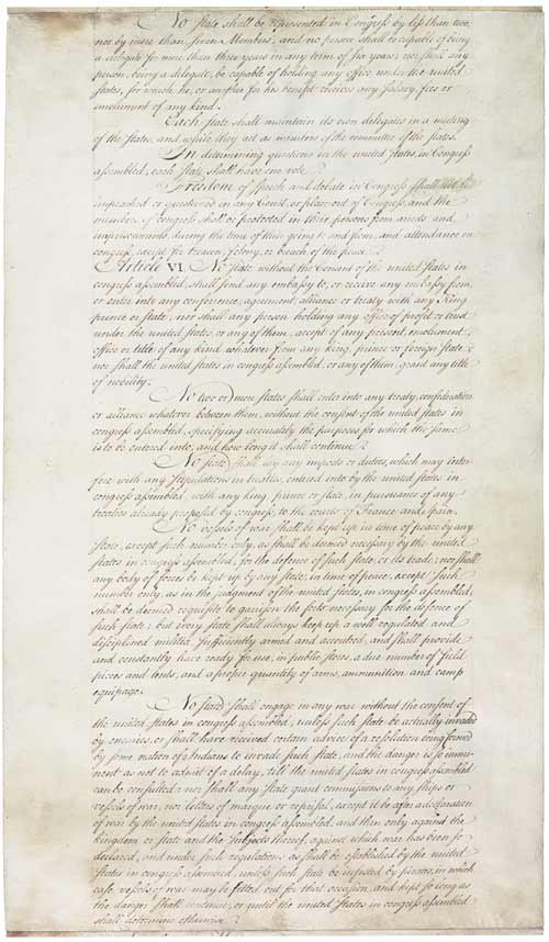 Articles of Confederation Page Two