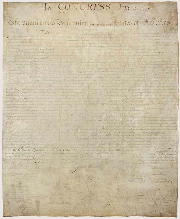 Original Declaration of Independence