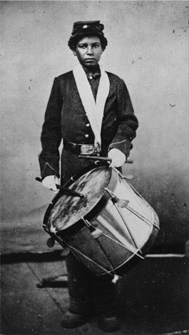 African American Drummer Boy