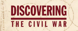Discovering the Civil War Logo