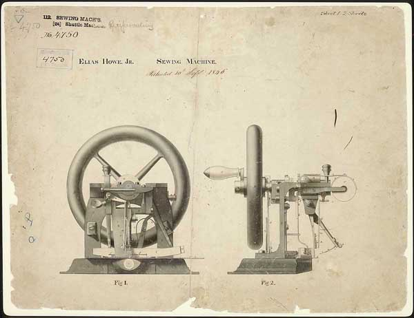 Designs For Democracy Best Patent For Sewing Machine