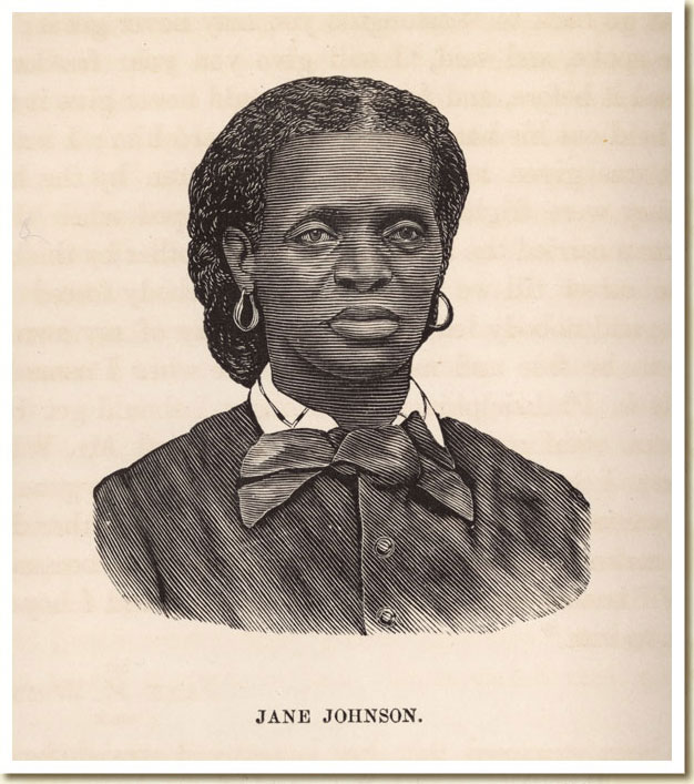 illustration jane johnson 1872 from the underground railroad by ...