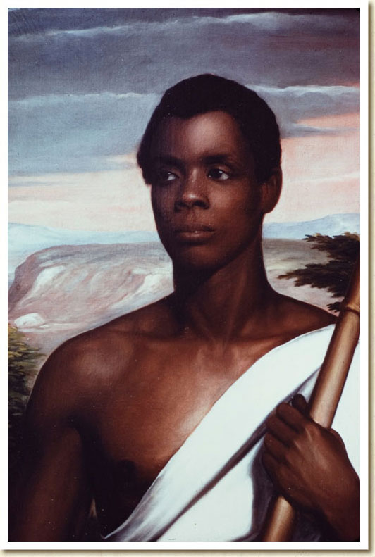 Joseph Cinque, Leader of the Amistad Captives, ca. 1840