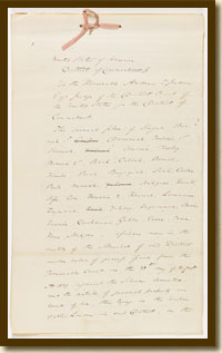 Plea to the Jurisdiction of Cinque and Others, August 21, 1839