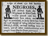 Slave Advertisement, Charleston