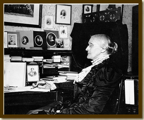 Photograph, Susan B. Anthony, late 19th century