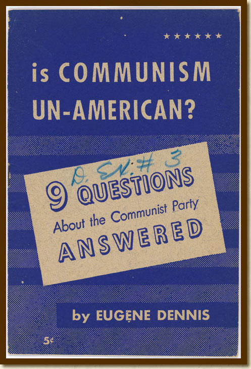 'Is Communism Un-American' Booklet