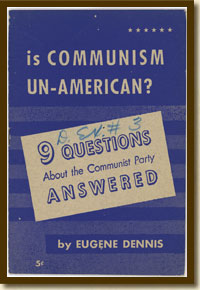 Booklet, Is Communism Un-American? ca. 1950