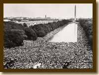 Photograph, Civil Rights March on Washington, DC, August 28, 1963