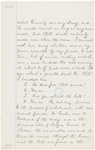 Statement of Dr. Robert King Stone, President Lincoln's family physician, May 16, 1865, page 45a