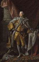<em>George III,</em> oil painting by studio of Allan Ramsay, London, England, ca. 1770