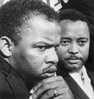 John Lewis (left) and Hosea Williams, July 26, 1965
