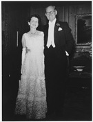 Ambassador and Mrs. Joseph P. Kennedy at the embassy residence in London, photograph by Peter Hunter, 1939