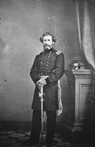John C. Fr�mont, photograph from the Mathew Brady Collection, ca. 1860�65
