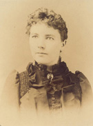 Laura Ingalls Wilder as a young woman, not dated
