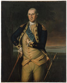 <em>George Washington,</em> painting by Charles Willson Peale, 1776