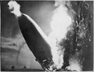 <em>Hindenburg</em> explosion, May 6, 1937