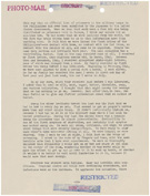 Marie Adams's report on conditions at the Santo Tomas internment camp, June 7, 1945, page 26