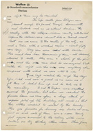 Letter from Pfc. Harold Porter, a medic with the 116th Evacuation Hospital, to his parents, May 7, 1945, page 2