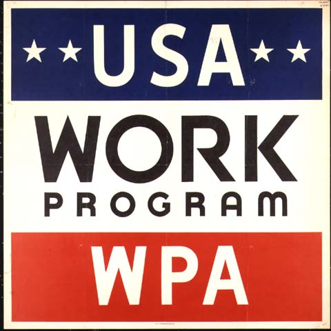 USA Work Program WPA logo