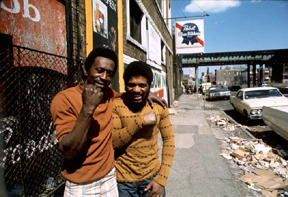 Chicago ghetto on the South Side. May 1973 (NWDNS-412-DA-13768