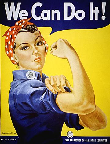 We Can Do It Poster World War 2