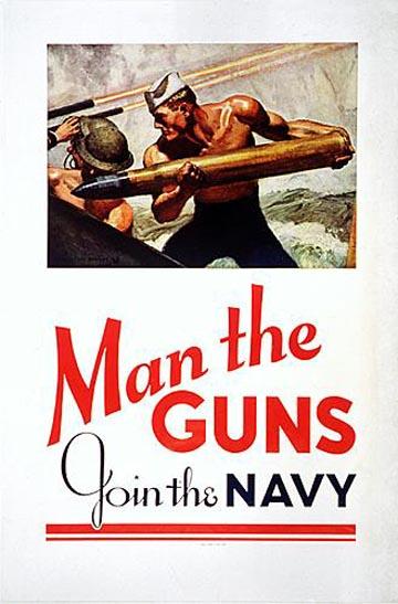 Pénurie de plongeur : l'armée engage ! Man_the_guns