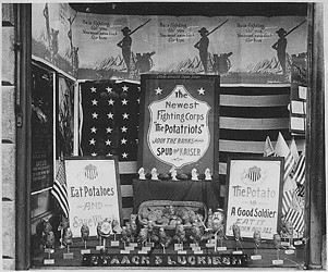 historical photo of store display
