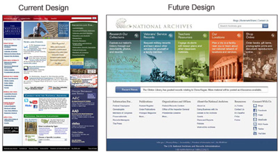 Preview the Archives.gov redesign