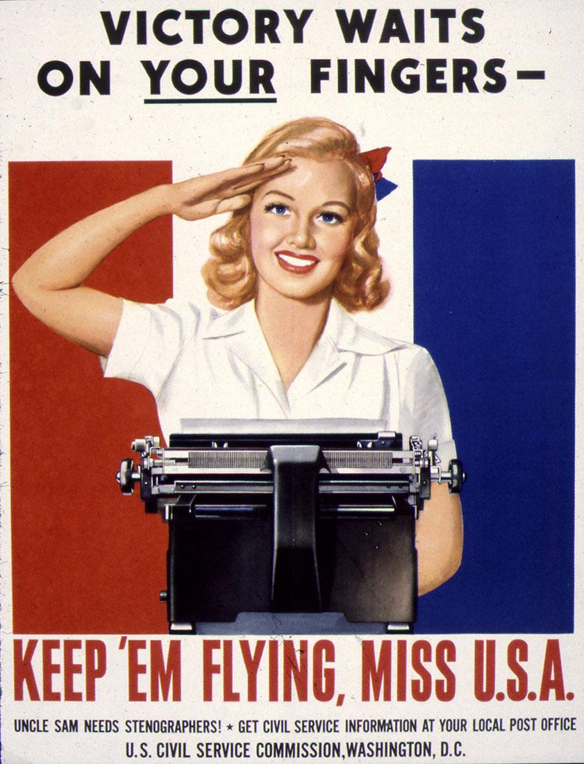 Nazi Brutality World War II US Military Vintage Poster