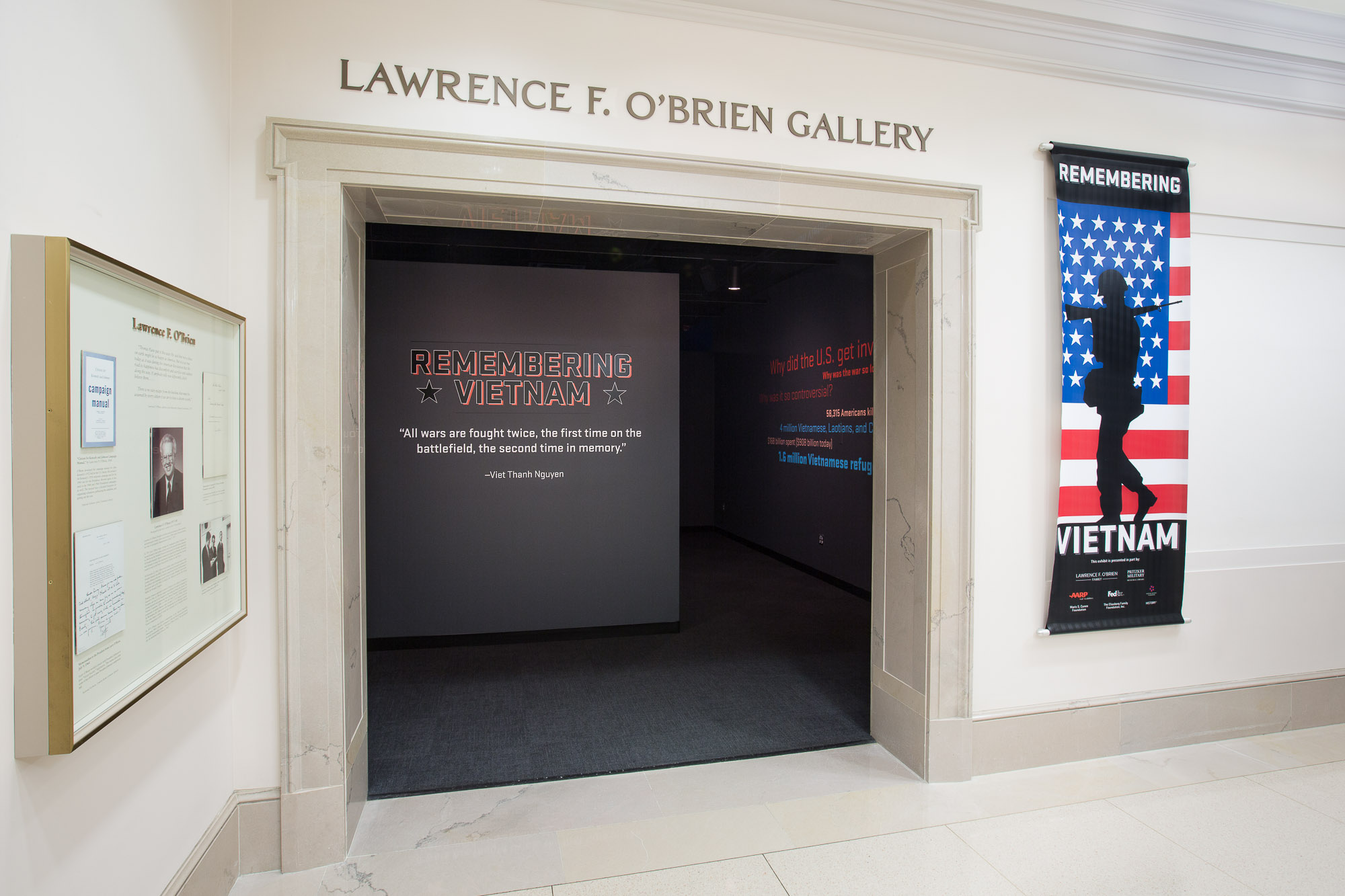 Entrance to the O'Brien Gallery
