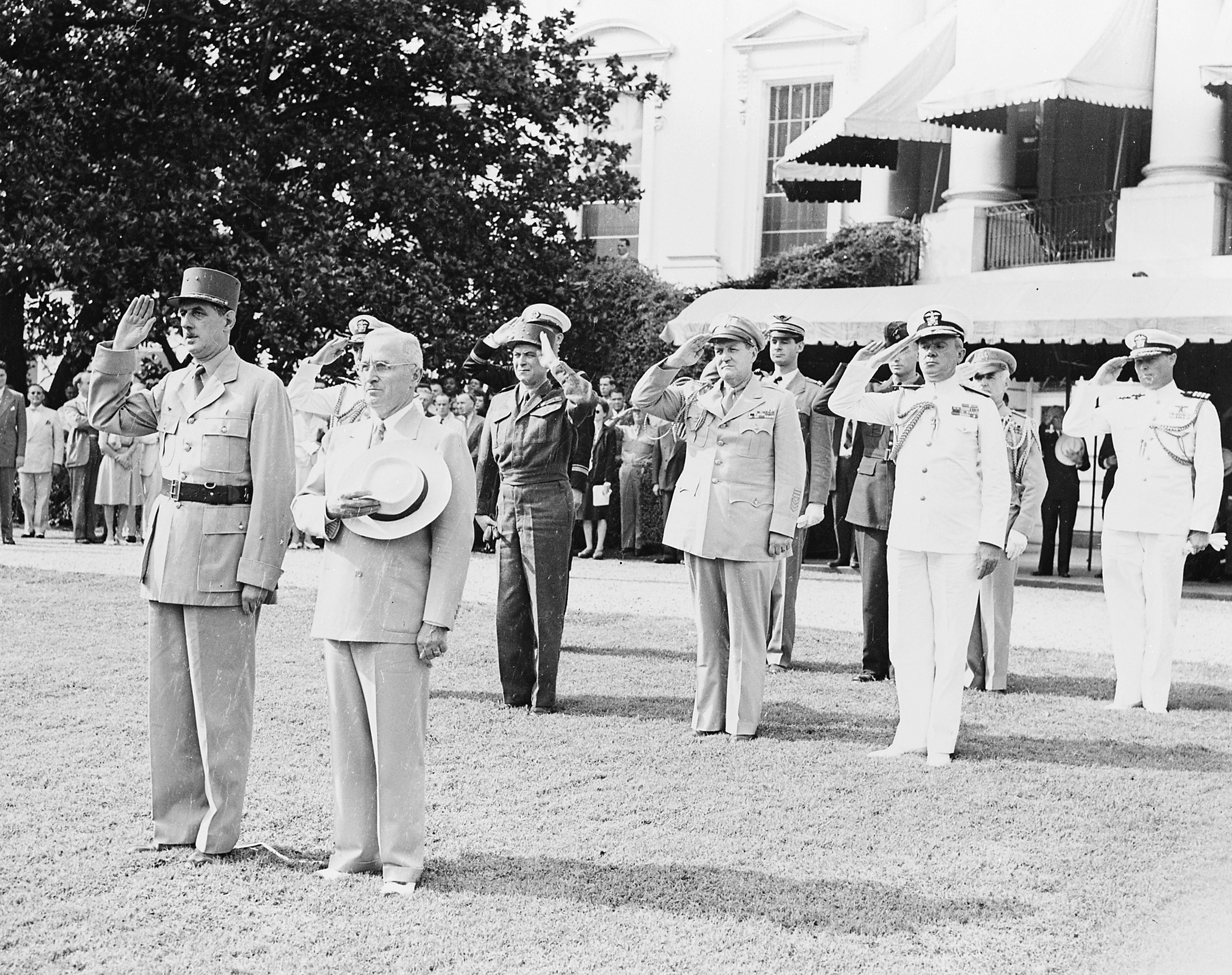 President Truman and French President Charles de Gaulle