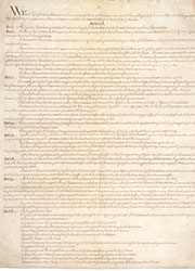 Ratification of the Constitution by New York, with proposed amendments.