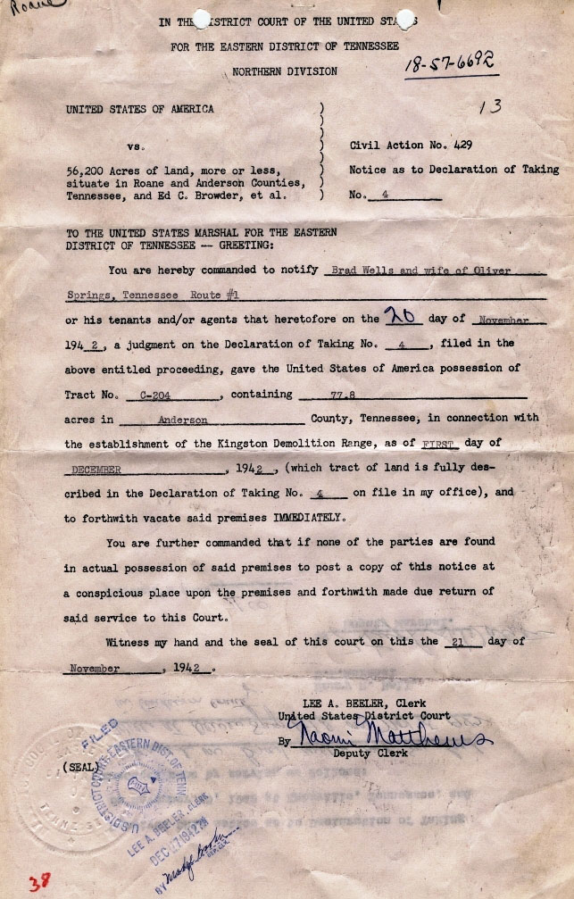 sample of original documents of the atomic energy commission at enlarge