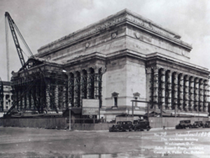 National Archives Building, 1934