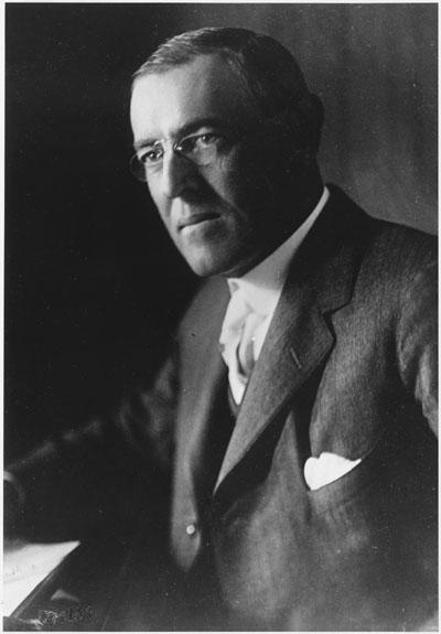 rhetorical analysis of president woodrow wilsons Woodrow wilson: second inaugural address woodrow wilson: speech on president woodrow wilson's plan for a world peace.