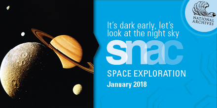It's dark early, let's look at the night sky. SNAC Space Exploration, January 2018