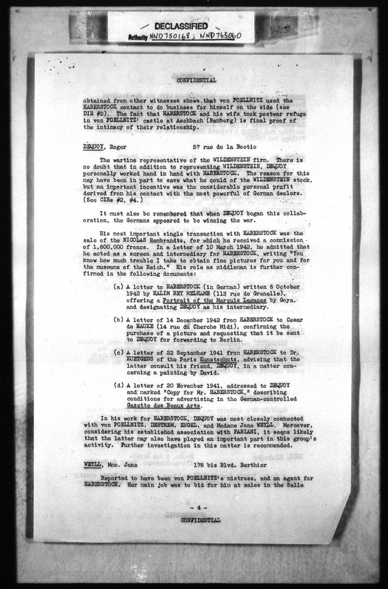 Detailed Interrogation Reports, 1945 - 1946