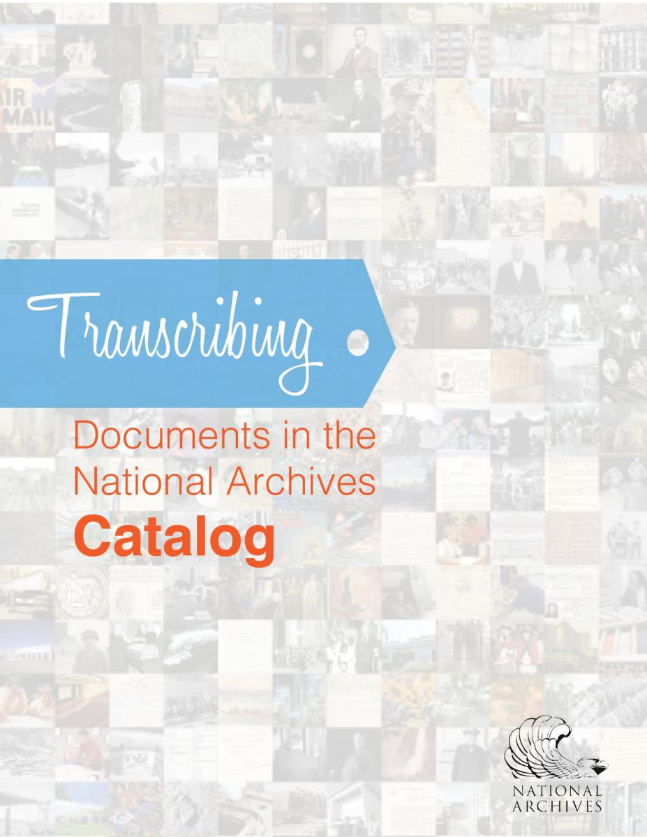 How to Transcribe booklet cover design