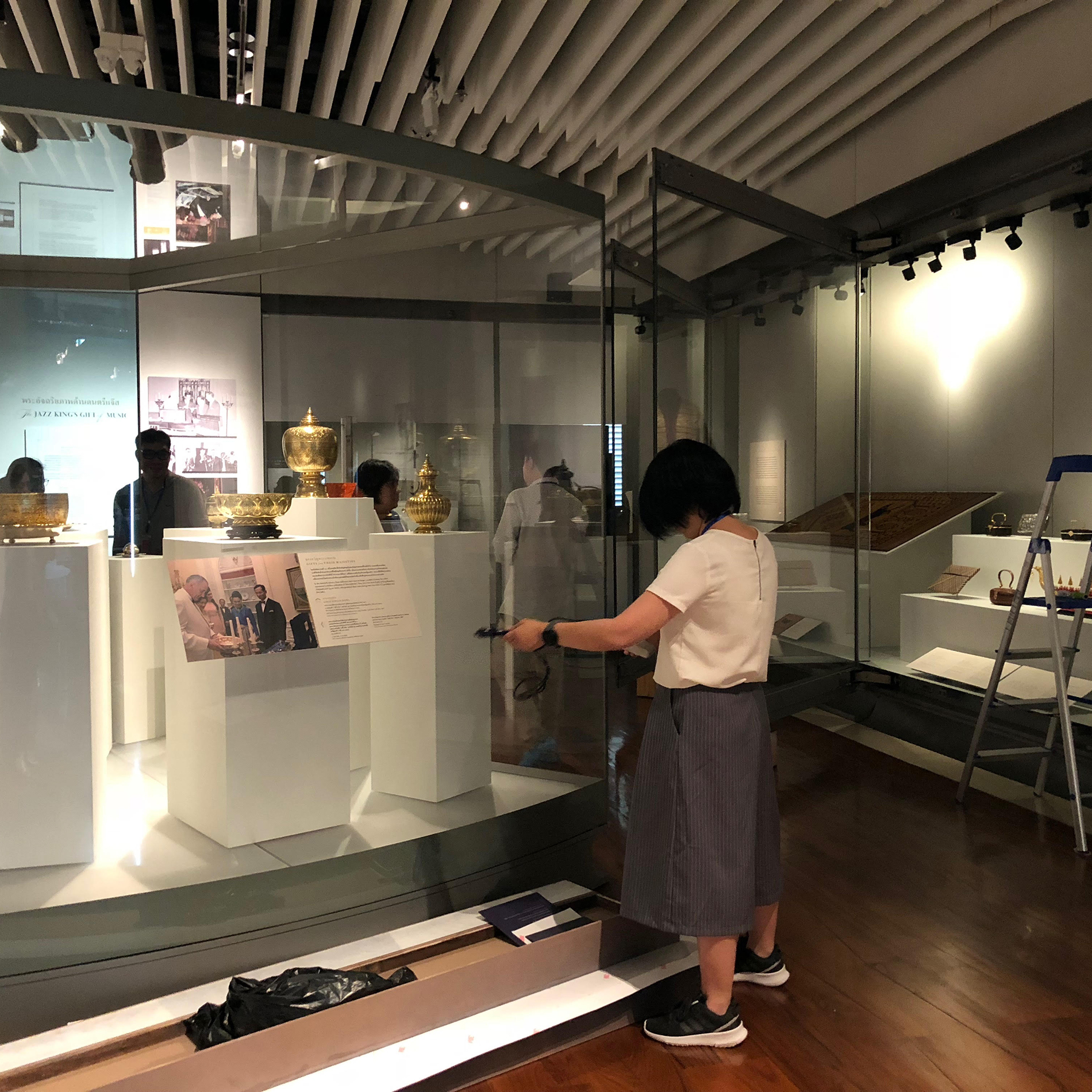Exhibition Booth Bangkok : Archives loans artifacts to thai exhibition national