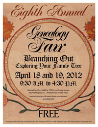 Eighth Annual Genealogy Fair
