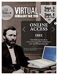 Virtual Genealogy Fair 2013 flyer