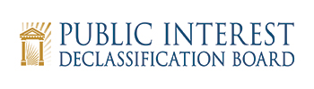 Public Interest Declassification Board logo