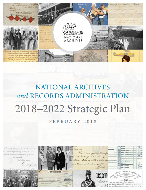 National Archives and Records Administration 2018-2022 Strategic Plan